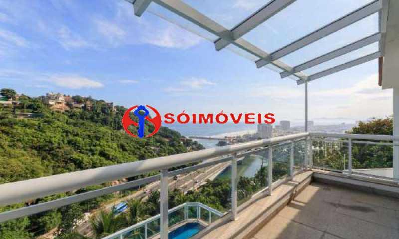 JJ5 - No Joá, espetacular residência de três andares com vista panorâmica para todo o mar da Joatinga. - LBCN40041 - 6