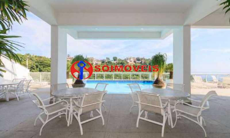 JJ8 - No Joá, espetacular residência de três andares com vista panorâmica para todo o mar da Joatinga. - LBCN40041 - 9