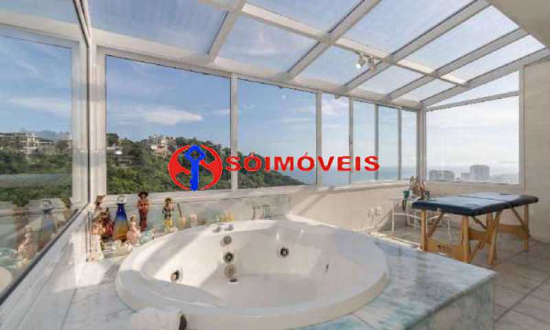 JJ13 - No Joá, espetacular residência de três andares com vista panorâmica para todo o mar da Joatinga. - LBCN40041 - 14