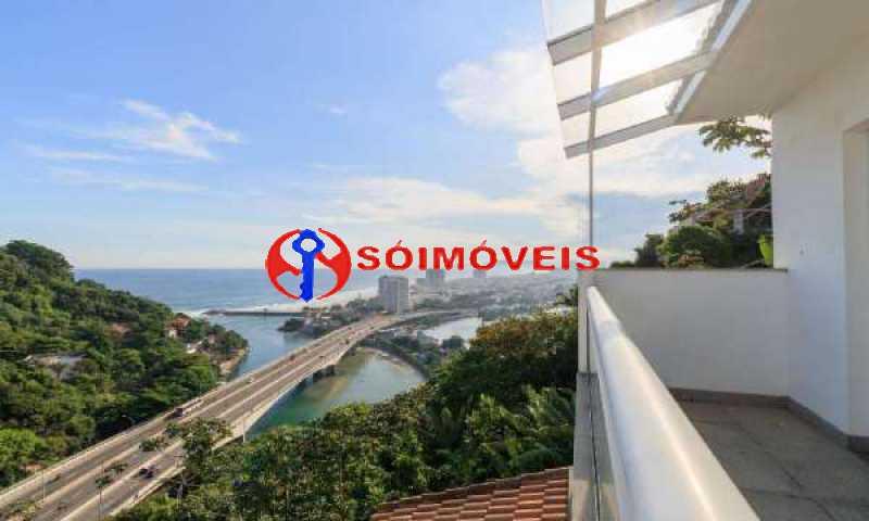 JJ15 - No Joá, espetacular residência de três andares com vista panorâmica para todo o mar da Joatinga. - LBCN40041 - 16