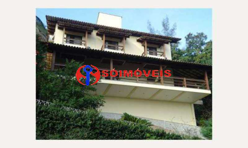 IT 1 - No Itanhangá maravilhosa casa com vista panorâmica para a lagoa e dependências espetaculares. - LBCN30023 - 1