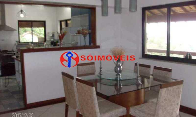 IT 5 - No Itanhangá maravilhosa casa com vista panorâmica para a lagoa e dependências espetaculares. - LBCN30023 - 6