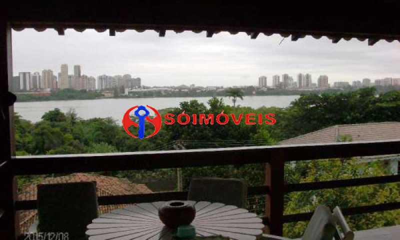 IT 10 - No Itanhangá maravilhosa casa com vista panorâmica para a lagoa e dependências espetaculares. - LBCN30023 - 11