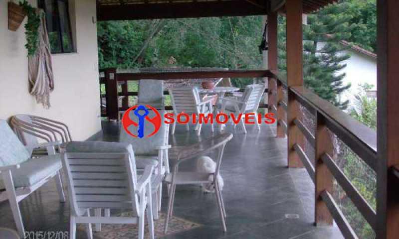 IT 11 - No Itanhangá maravilhosa casa com vista panorâmica para a lagoa e dependências espetaculares. - LBCN30023 - 12