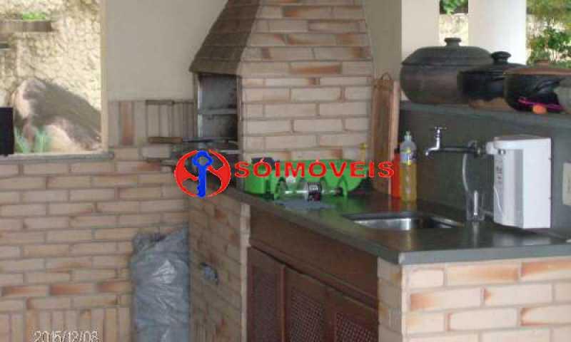 IT 12 - No Itanhangá maravilhosa casa com vista panorâmica para a lagoa e dependências espetaculares. - LBCN30023 - 13