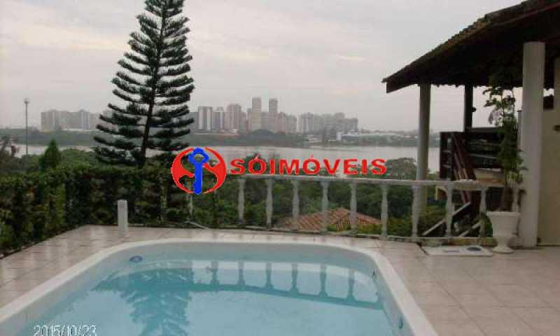 IT 13 - No Itanhangá maravilhosa casa com vista panorâmica para a lagoa e dependências espetaculares. - LBCN30023 - 15