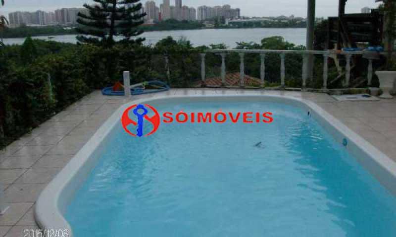 IT 14 - No Itanhangá maravilhosa casa com vista panorâmica para a lagoa e dependências espetaculares. - LBCN30023 - 16