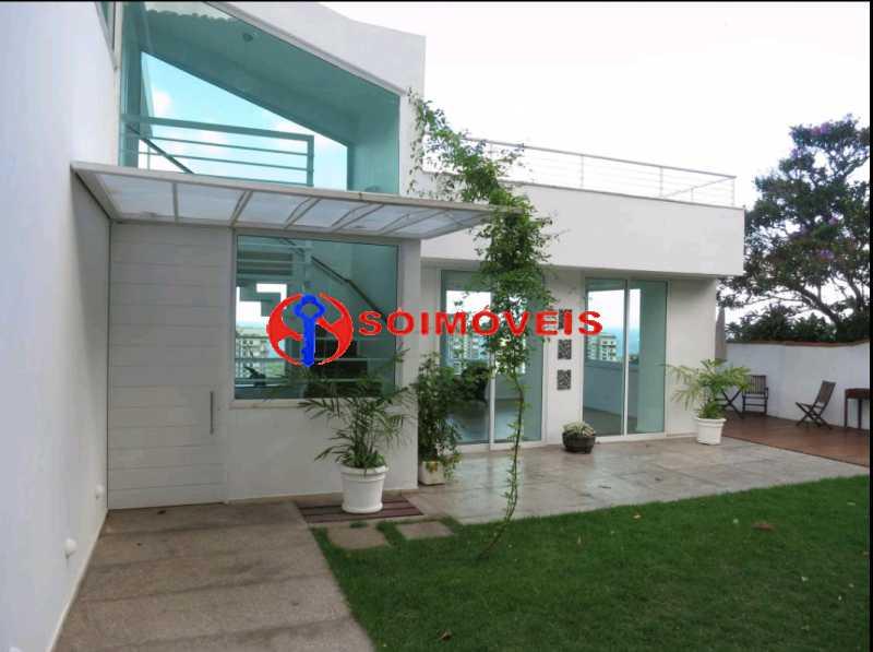 1 - EXCELENTE CASA DUPLEX EM SÃO CONRADO. - LBCN40042 - 1