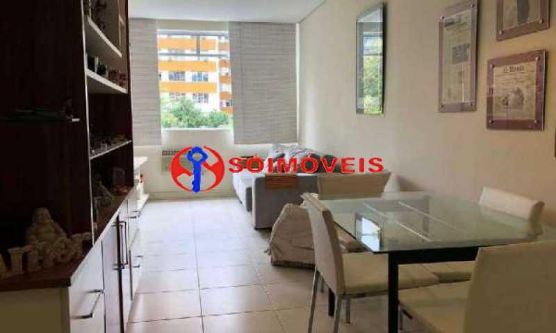 9 - Apartamento 1 quarto à venda Humaitá, Rio de Janeiro - R$ 700.000 - LBAP11042 - 3