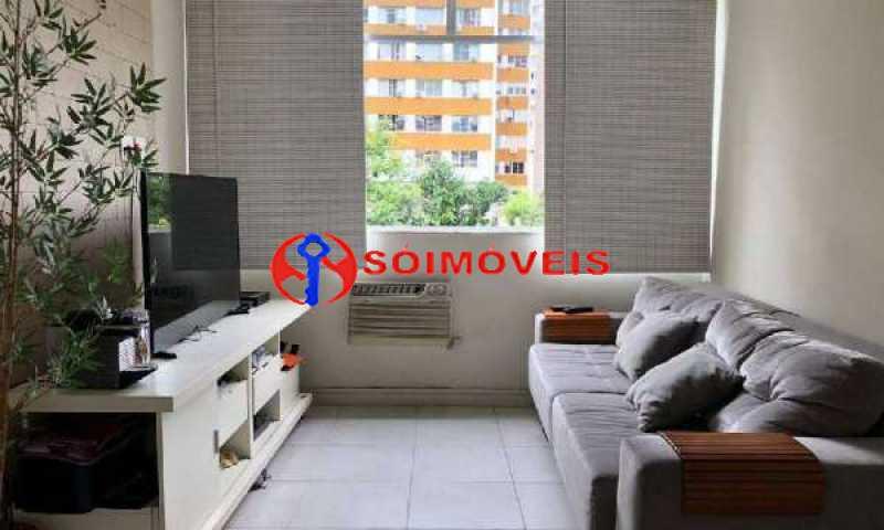 14 - Apartamento 1 quarto à venda Humaitá, Rio de Janeiro - R$ 700.000 - LBAP11042 - 1
