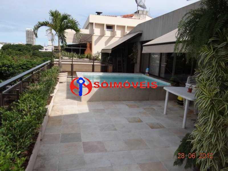 thumbnail_1 - varanda - piscin - Cobertura 4 quartos à venda Rio de Janeiro,RJ - R$ 3.495.000 - LBCO40264 - 5