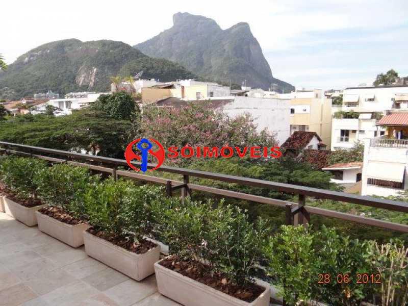 thumbnail_4 - vista da varanda - Cobertura 4 quartos à venda Rio de Janeiro,RJ - R$ 3.495.000 - LBCO40264 - 1