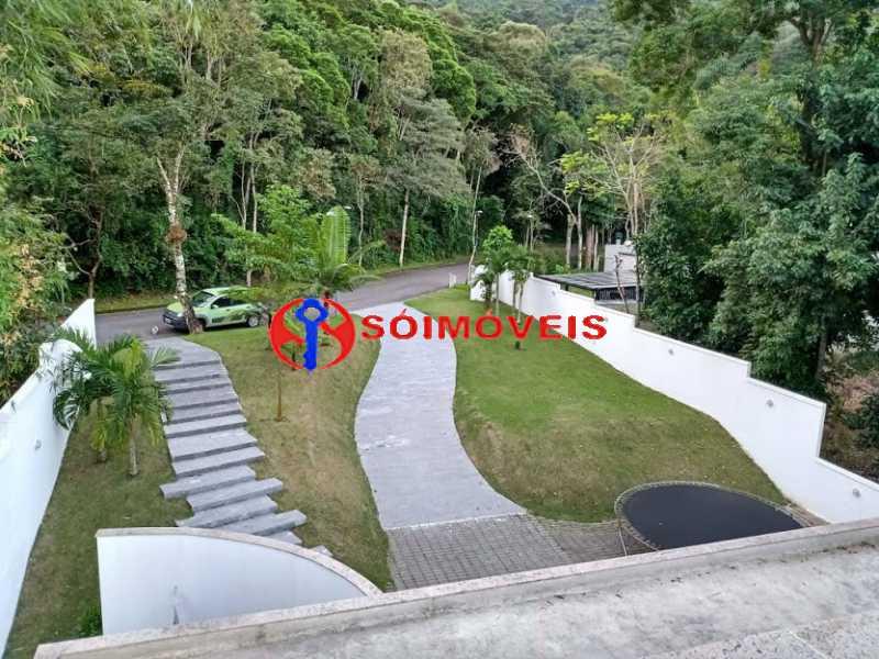AI  28 - No Itanhangá magnífica casa triplex com uma infra estrutura sensacional. - LBCN50028 - 8