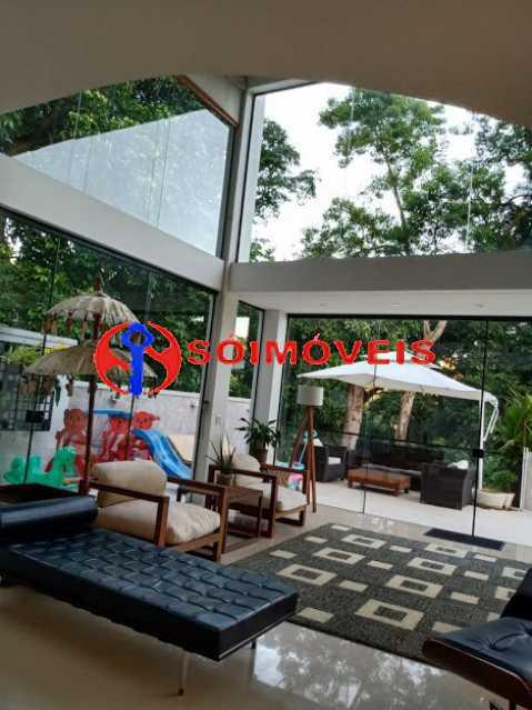 AI 4 - No Itanhangá magnífica casa triplex com uma infra estrutura sensacional. - LBCN50028 - 9