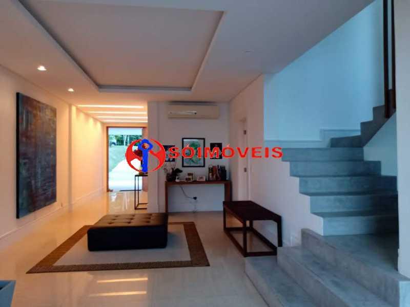 AI 5 - No Itanhangá magnífica casa triplex com uma infra estrutura sensacional. - LBCN50028 - 10