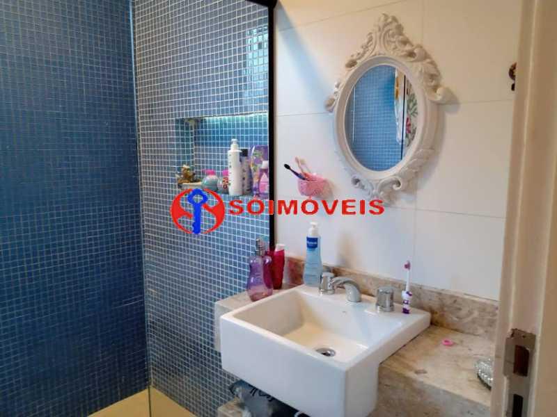 AI 13 - No Itanhangá magnífica casa triplex com uma infra estrutura sensacional. - LBCN50028 - 16