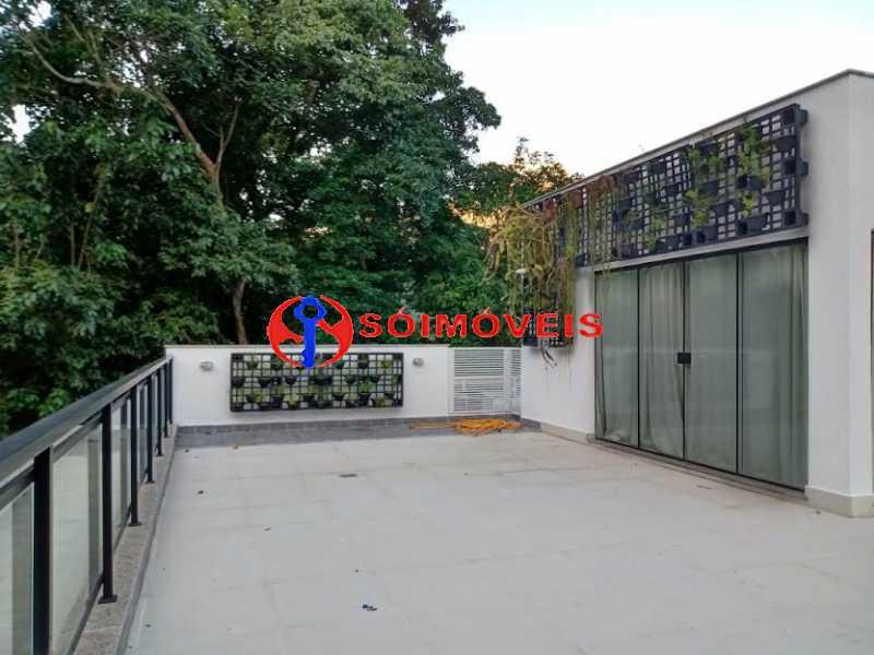 AI 22 - No Itanhangá magnífica casa triplex com uma infra estrutura sensacional. - LBCN50028 - 25