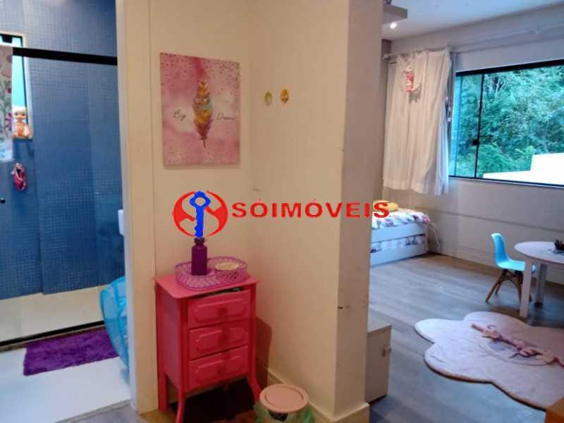 AI 31 - No Itanhangá magnífica casa triplex com uma infra estrutura sensacional. - LBCN50028 - 27
