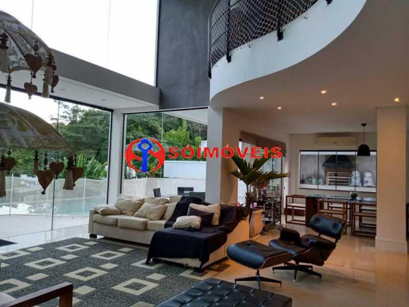 AI 35 - No Itanhangá magnífica casa triplex com uma infra estrutura sensacional. - LBCN50028 - 30