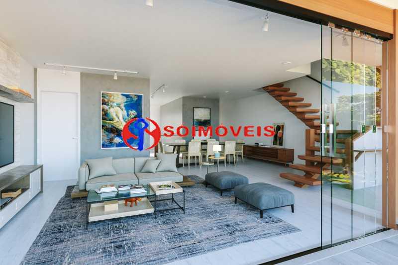200428 - Riosantos - G Abuquer - Cobertura 3 quartos à venda Barra da Tijuca, Rio de Janeiro - R$ 2.350.000 - LBCO30378 - 6