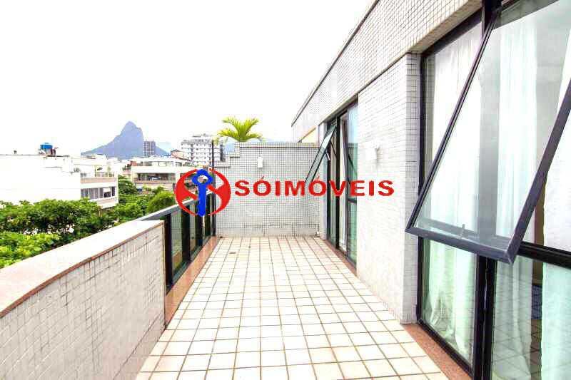 20 - Espetacular cobertura em Ipanema Frontal Lagoa com vista cinematográfica em um dos prédios mais modernos e luxuosos da orla da Lagoa. - LBCO40281 - 21