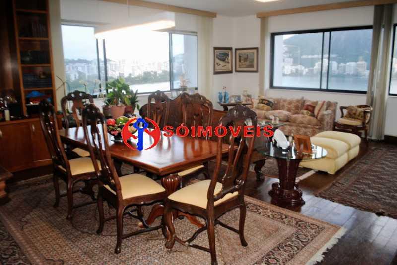 _DSC0712 3 - Apartamento 4 quartos à venda Lagoa, Rio de Janeiro - R$ 3.600.000 - LBAP41720 - 6