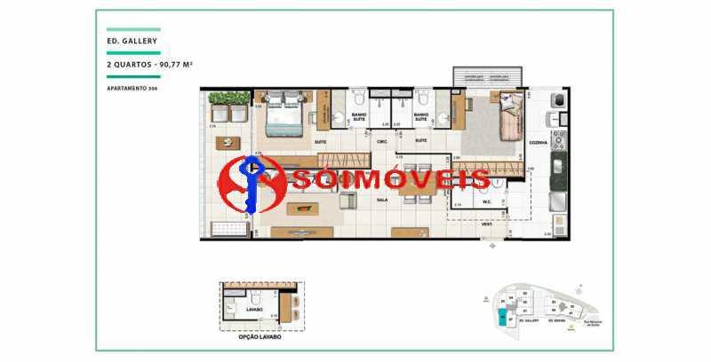 apartamento-vc-open-gallerydes - Cobertura 4 quartos à venda Laranjeiras, Rio de Janeiro - R$ 2.641.550 - LBCO40288 - 11