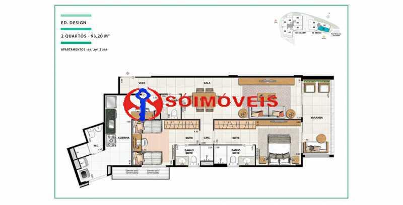 apartamento-vc-open-gallerydes - Cobertura 4 quartos à venda Laranjeiras, Rio de Janeiro - R$ 2.641.550 - LBCO40288 - 12
