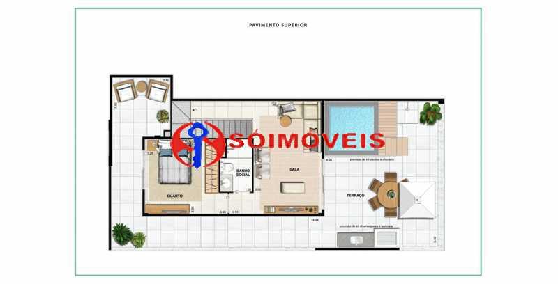 apartamento-vc-open-gallerydes - Cobertura 4 quartos à venda Laranjeiras, Rio de Janeiro - R$ 2.641.550 - LBCO40288 - 14