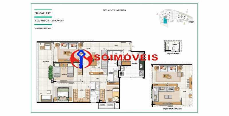 apartamento-vc-open-gallerydes - Cobertura 4 quartos à venda Laranjeiras, Rio de Janeiro - R$ 2.999.874 - LBCO40291 - 17