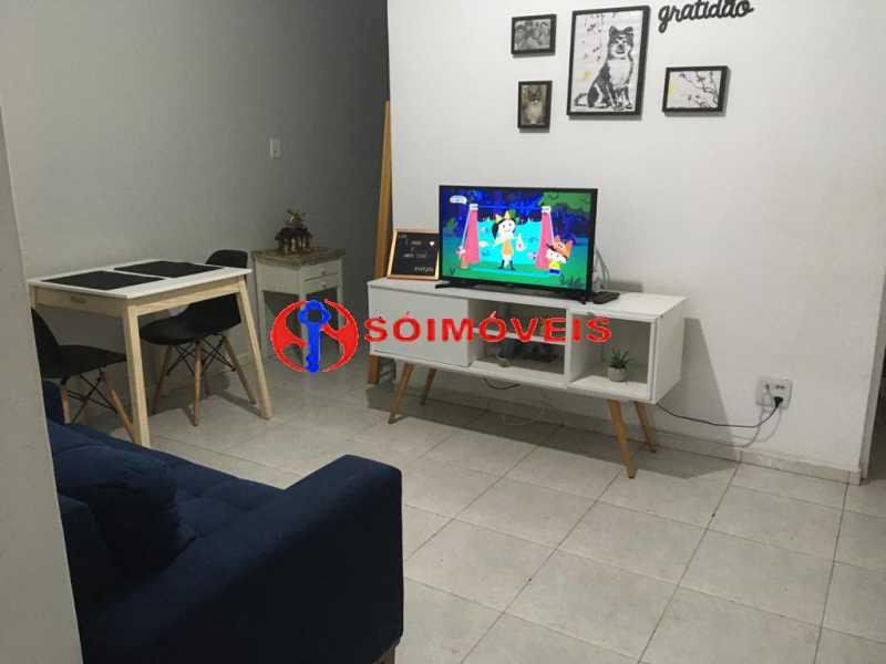 Sala1 - Apartamento 2 quartos à venda Rio de Janeiro,RJ - R$ 500.000 - FLAP20528 - 3