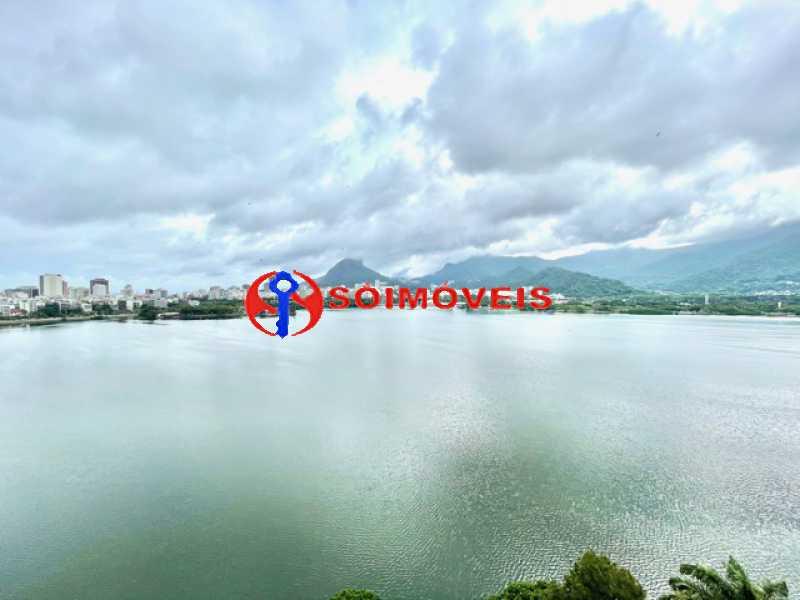 4 - Ampla cobertura duplex com espetacular vista Lagoa - LBCO40302 - 5