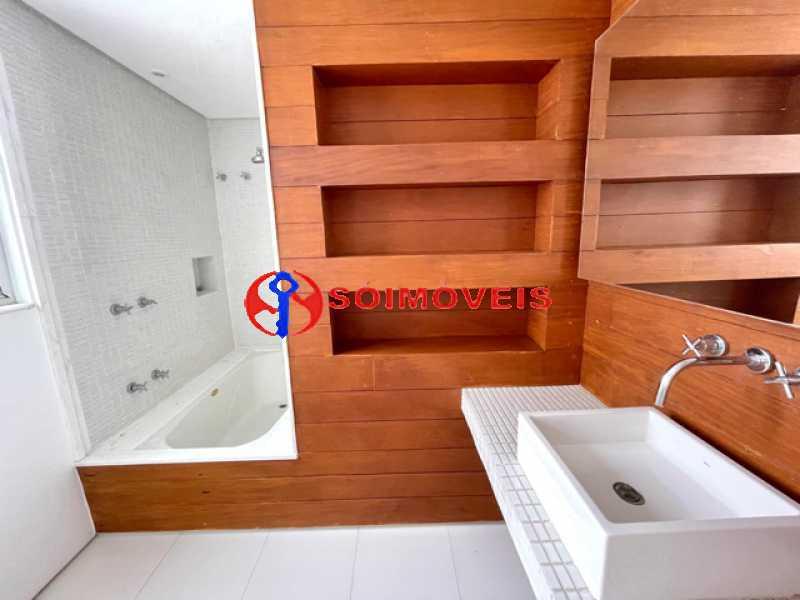 13 - Ampla cobertura duplex com espetacular vista Lagoa - LBCO40302 - 14