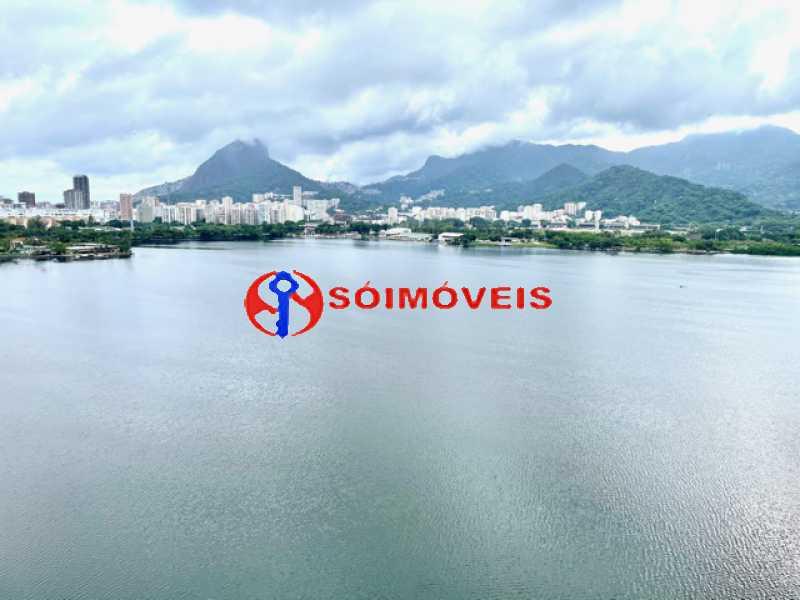 16 - Ampla cobertura duplex com espetacular vista Lagoa - LBCO40302 - 17