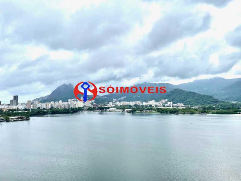 17 - Ampla cobertura duplex com espetacular vista Lagoa - LBCO40302 - 18