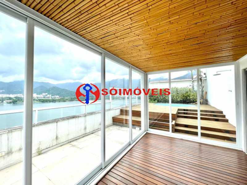 23 - Ampla cobertura duplex com espetacular vista Lagoa - LBCO40302 - 24