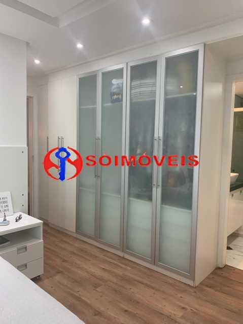 armario casal - Apartamento à venda Rua Mário Agostinelli,Jacarepaguá, Rio de Janeiro - R$ 1.280.000 - POAP40097 - 7