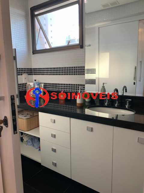 banheiro 2 - Apartamento à venda Rua Mário Agostinelli,Jacarepaguá, Rio de Janeiro - R$ 1.280.000 - POAP40097 - 19