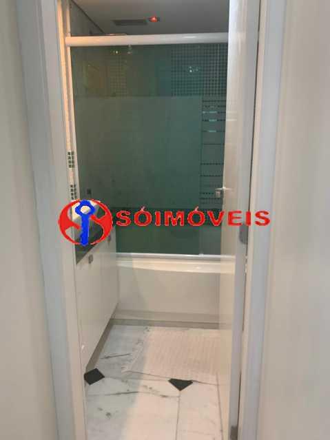 banheiro suite 1 - Apartamento à venda Rua Mário Agostinelli,Jacarepaguá, Rio de Janeiro - R$ 1.280.000 - POAP40097 - 10