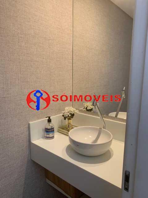 lavabo - Apartamento à venda Rua Mário Agostinelli,Jacarepaguá, Rio de Janeiro - R$ 1.280.000 - POAP40097 - 13