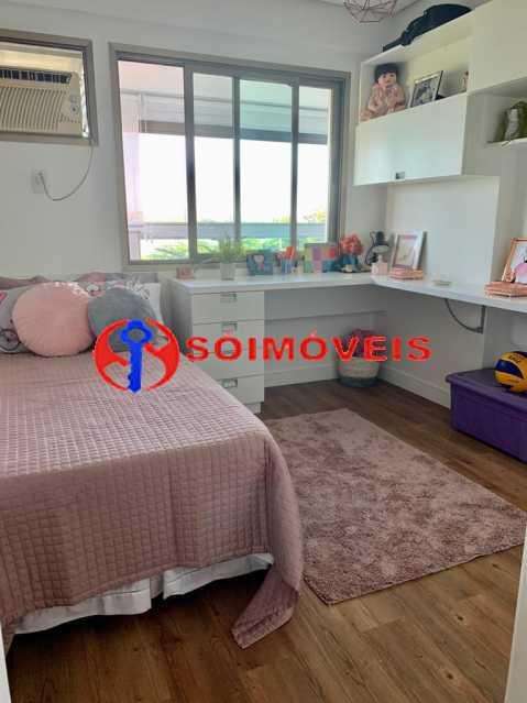 qto 2 - Apartamento à venda Rua Mário Agostinelli,Jacarepaguá, Rio de Janeiro - R$ 1.280.000 - POAP40097 - 15