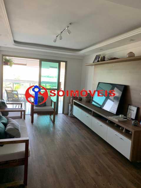 sala7 - Apartamento à venda Rua Mário Agostinelli,Jacarepaguá, Rio de Janeiro - R$ 1.280.000 - POAP40097 - 5