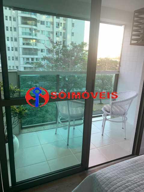 varanda suite - Apartamento à venda Rua Mário Agostinelli,Jacarepaguá, Rio de Janeiro - R$ 1.280.000 - POAP40097 - 9
