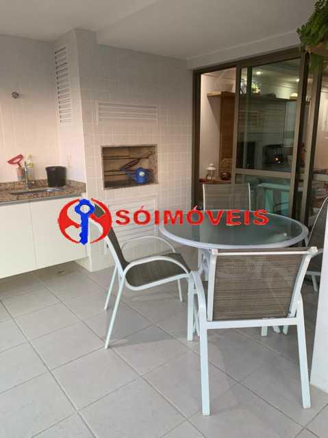 varanda - Apartamento à venda Rua Mário Agostinelli,Jacarepaguá, Rio de Janeiro - R$ 1.280.000 - POAP40097 - 17