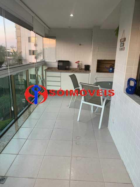 varanda2 - Apartamento à venda Rua Mário Agostinelli,Jacarepaguá, Rio de Janeiro - R$ 1.280.000 - POAP40097 - 20