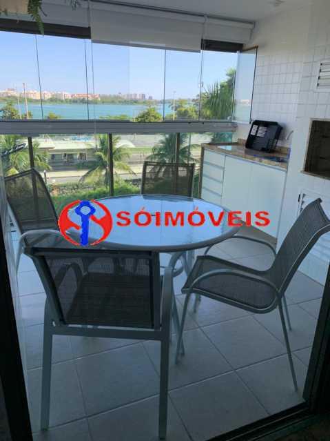 varanda3 - Apartamento à venda Rua Mário Agostinelli,Jacarepaguá, Rio de Janeiro - R$ 1.280.000 - POAP40097 - 18