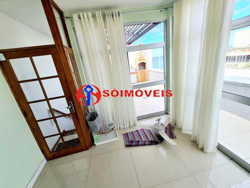 21394_G1625178450 - Cobertura 3 quartos à venda Rio de Janeiro,RJ - R$ 4.500.000 - LBCO30418 - 1