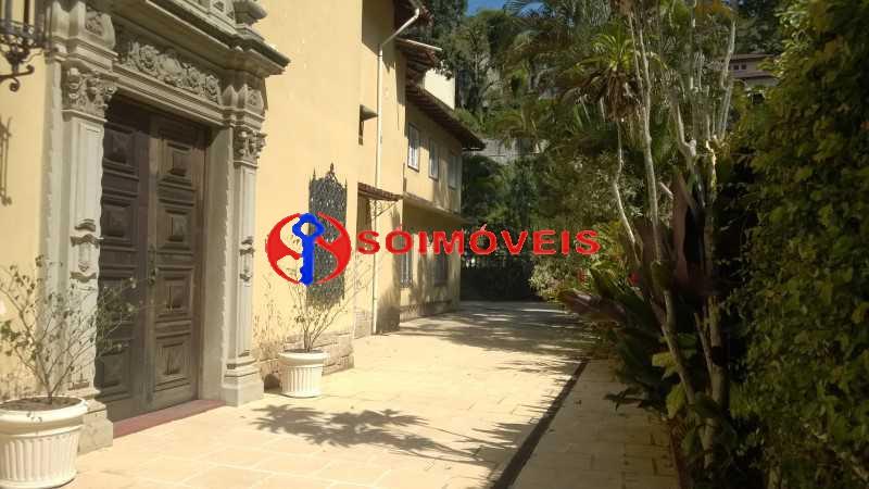 02 - Casa à venda Rua Marechal Pires Ferreira,Cosme Velho, Rio de Janeiro - R$ 8.500.000 - LBCA40031 - 1