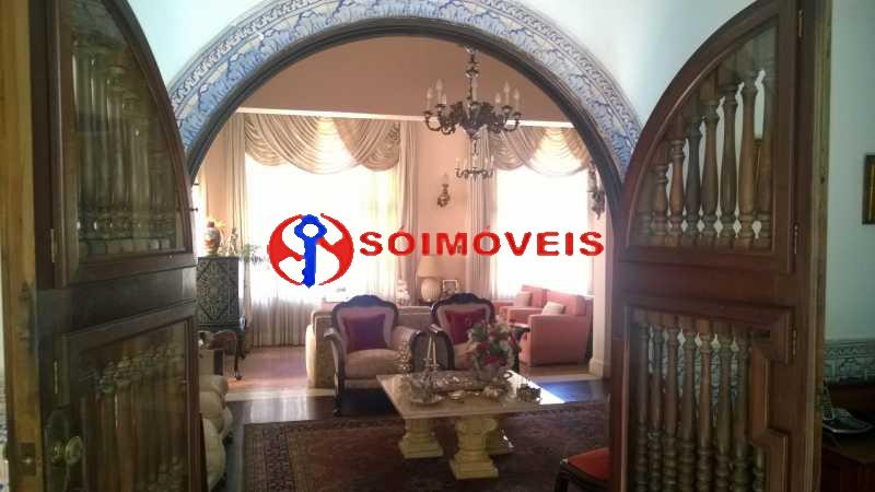 07 - Casa à venda Rua Marechal Pires Ferreira,Cosme Velho, Rio de Janeiro - R$ 8.500.000 - LBCA40031 - 7