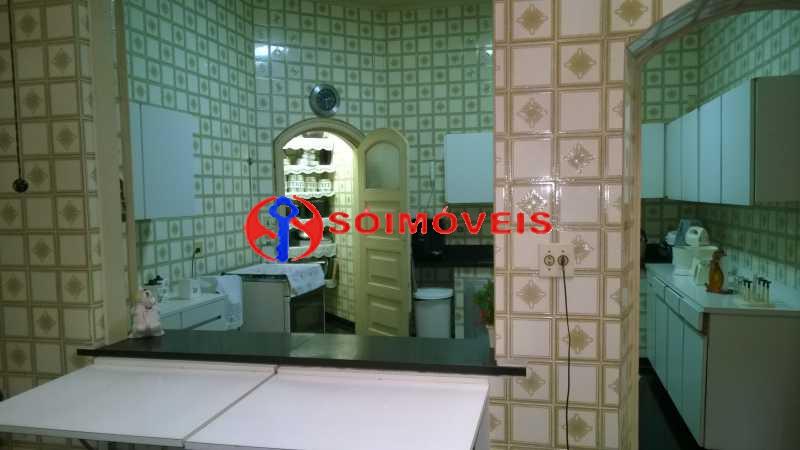 18 - Casa à venda Rua Marechal Pires Ferreira,Cosme Velho, Rio de Janeiro - R$ 8.500.000 - LBCA40031 - 17